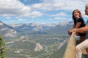 Banff Gondola Summit at Sulphur Mountain