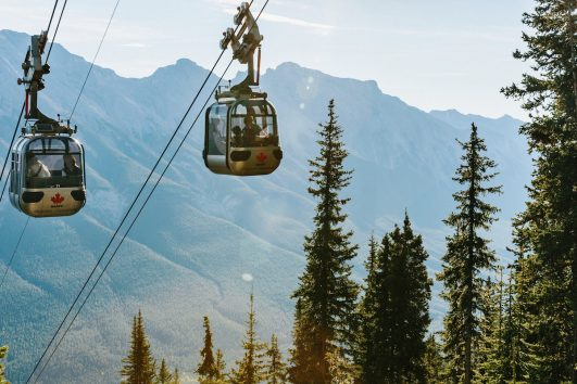 Banff Gondola at Sulphur Mountain