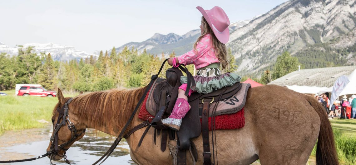 Kids Learn To Ride Program Banff Trail Riders