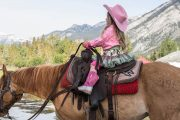 Children Learn to Ride Program with Banff Trail Riders