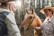 Horseback riding, with Banff Trail Riders
