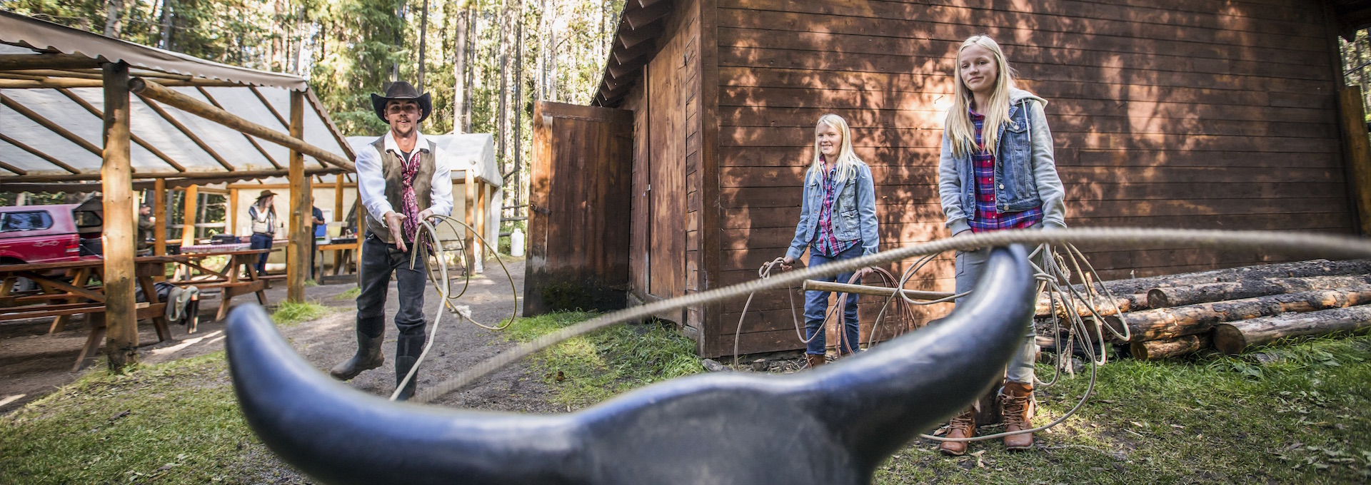 Banff Horseback Cowboy Cookout, Banff Trail Riders