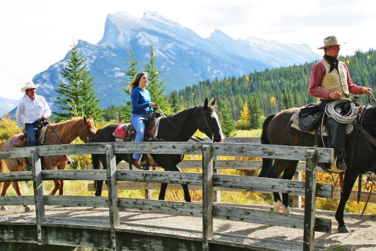 Banff Horseback Rides with Banff Trail Riders