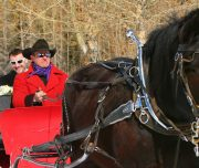 Banff Sleigh Ride, Banff Trail Riders