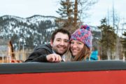Banff private winter sleigh ride with Banff Trail Riders