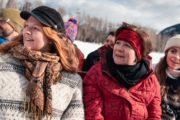 Banff winter sleigh ride with Banff Trail Riders