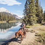 Banff Horseback Ride with BBQ