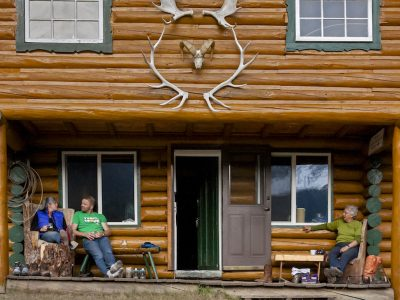 Halfway Lodge, Banff Trail Riders