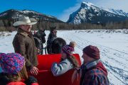 Hear stories from your friendly guide on a winter sleigh ride