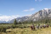 Cowboy BBQ Cookout Banff Horseback Ride