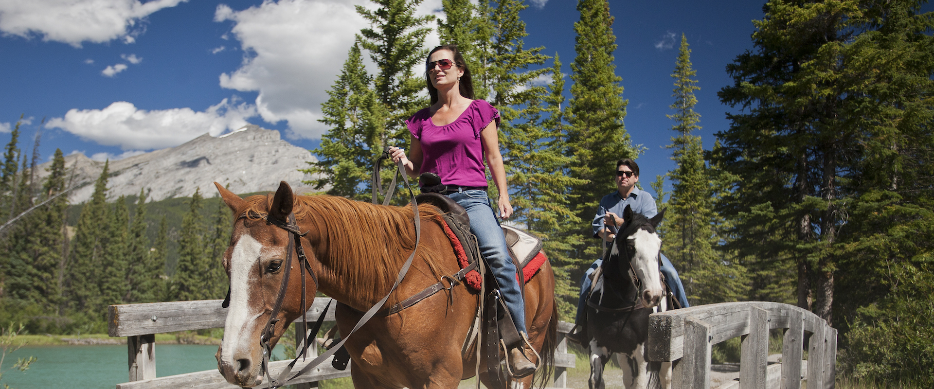 Hourly rides and backcountry horseback vacations