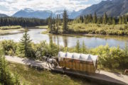 Wagon Ride on the Cowboy Cookout in Banff, Canadian Rockies with Banff Trail Riders