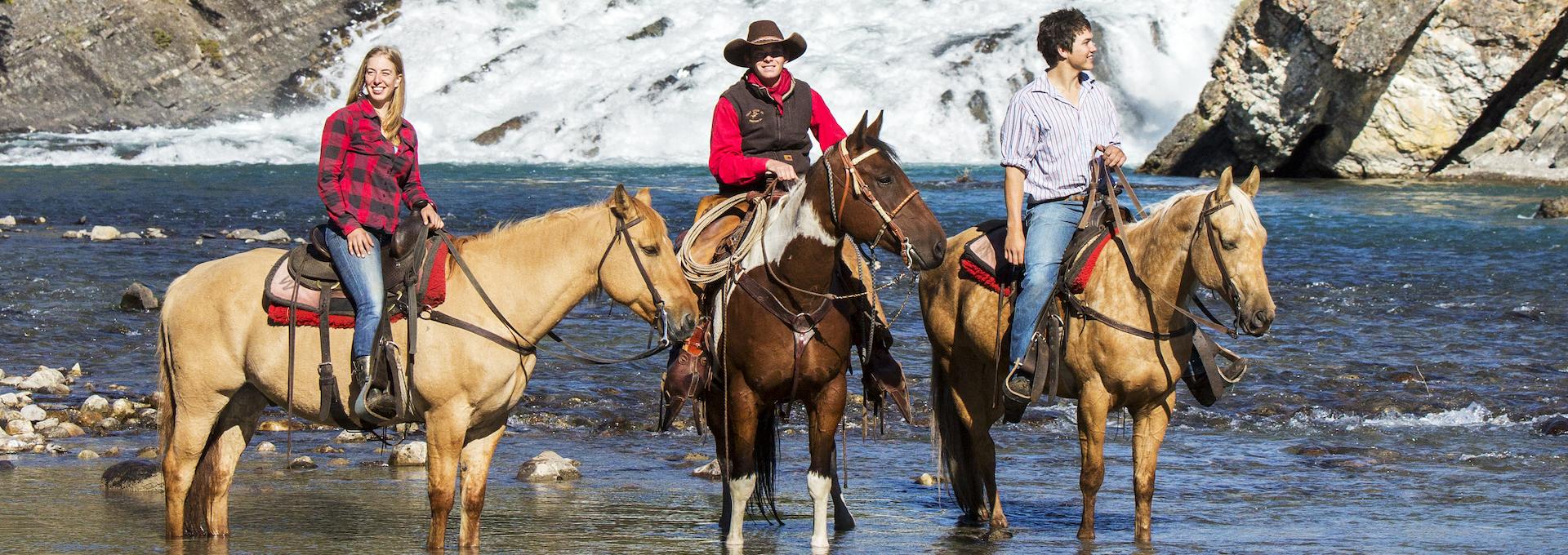 Banff Bow River Horseback Ride