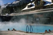 Visit the Banff Upper Hot Springs for a relaxing soak