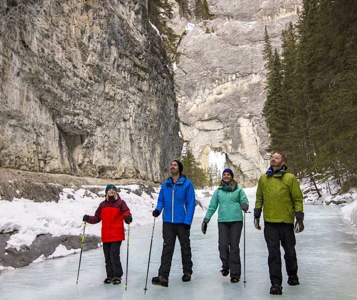 Grotto Canyon Icewalk