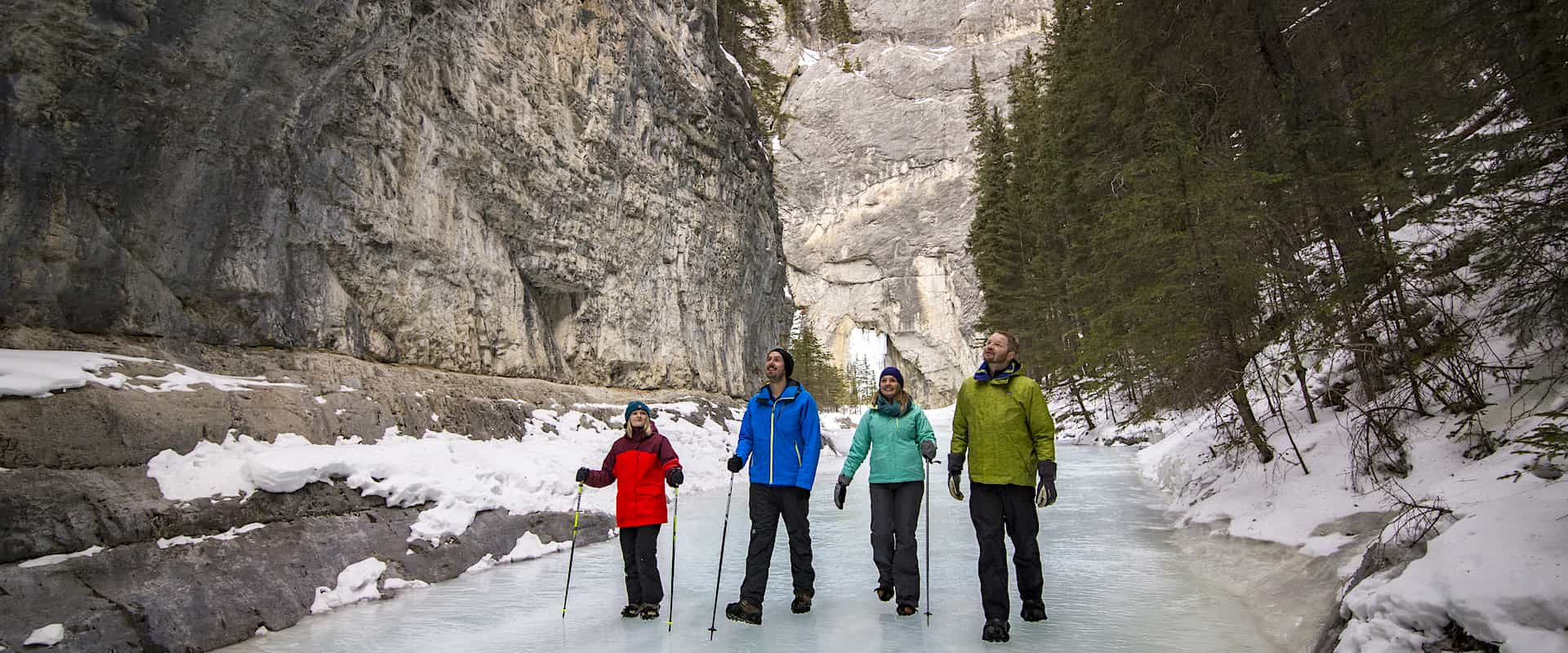 Grotto Canyon Icewalk + Sleighride