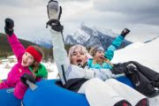 Mt Norquay Snow tubing is fun for the whole family