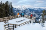 See incredible views over Banff from the Banff Gondola
