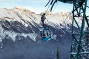 Winter Banff Gondola
