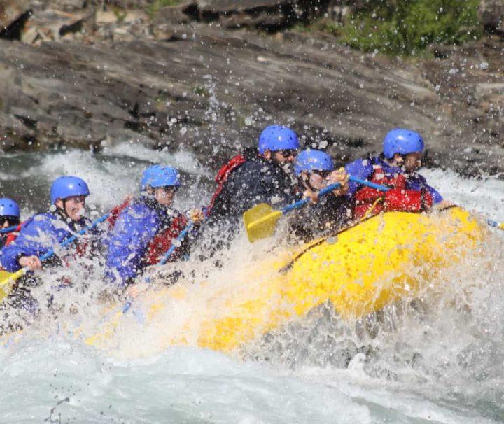 Class 4 rapids fun on the Horseshoe Canyon
