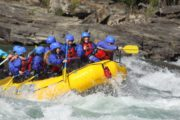 Get splashed by class 4 rapids on the Horseshoe Canyon