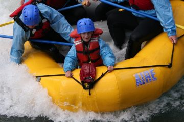 Kananaskis River Whitewater Rafting Tour near Banff, Canadian Rockies