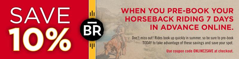 Banff Horseback Ride Coupon