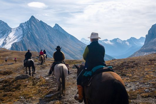 Horseback Rides in Banff, Canadian Rockies with Banff Trail Riders