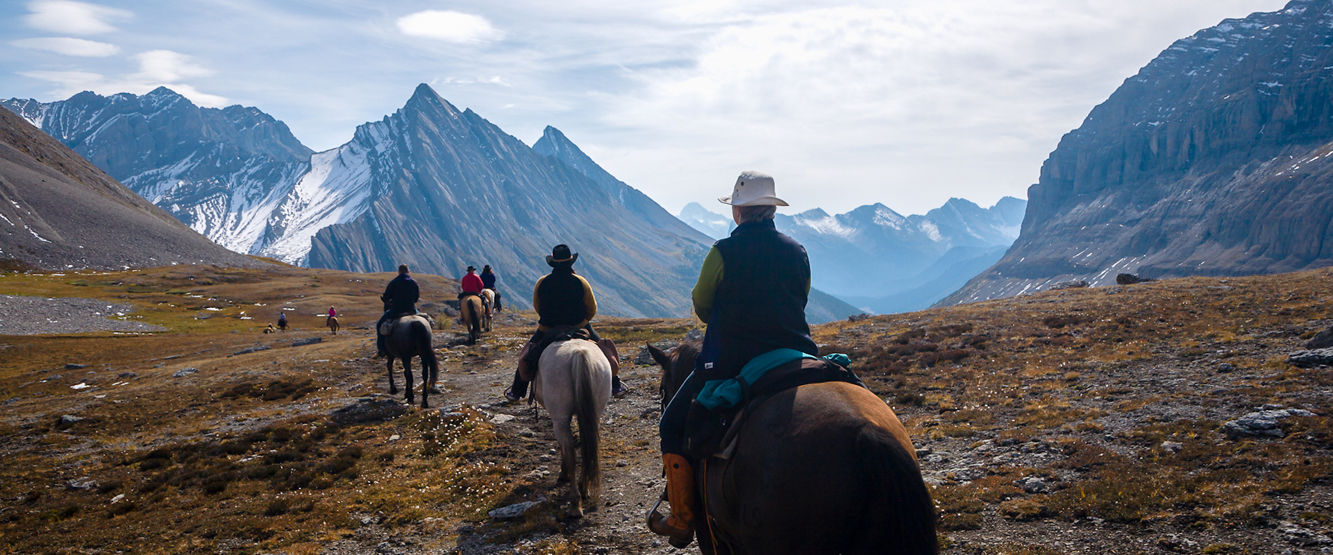Halfway Lodge Backcountry Trip in Banff, Canadian Rockies with Banff Trail Riders