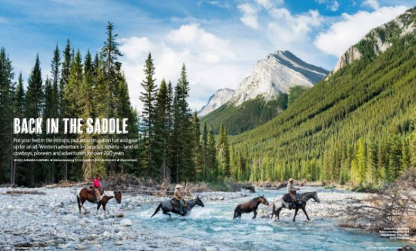 Lonely Planet Cover June 2016 Cowboys Crossing The Cascade River