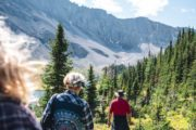 Take an optional day hike from Halfway Lodge