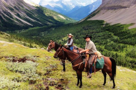 Backcountry Trip in Banff, Canadian Rockies with Banff Trail Riders