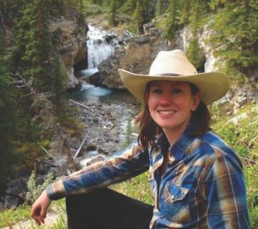 Amanda Office Manager and Store Manager with Banff Trail Riders