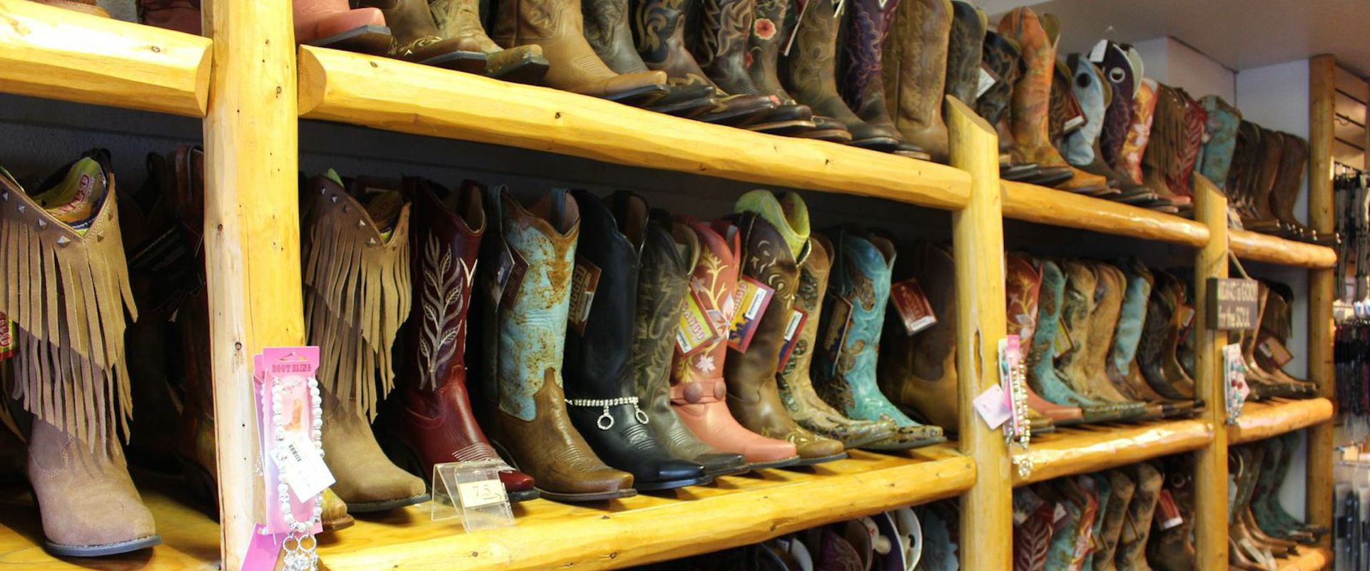 Cowboy Boots at the Trail Riders Store in Banff, Canadian Rockies