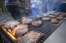 Delicious Steak on the Cowboy Cookout in Banff, Canadian Rockies with Banff Trail Riders