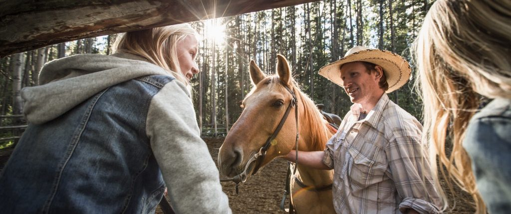 Family Horseback Rides in Banff, Canadian Rockies with Banff Trail Riders