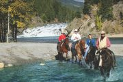 Horseback Trail Rides in Banff, Canadian Rockies with Banff Trail Riders