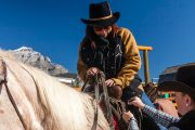 Mount for a Horseback Ride in Banff, Canadian Rockies with Banff Trail Riders
