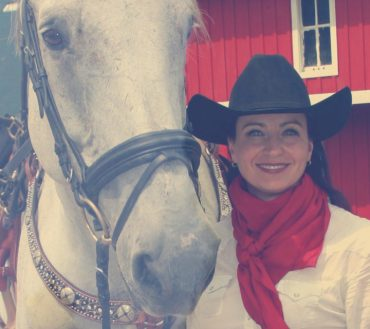 Julie Canning Cowgirl and Operating Partner with Banff Trail Riders