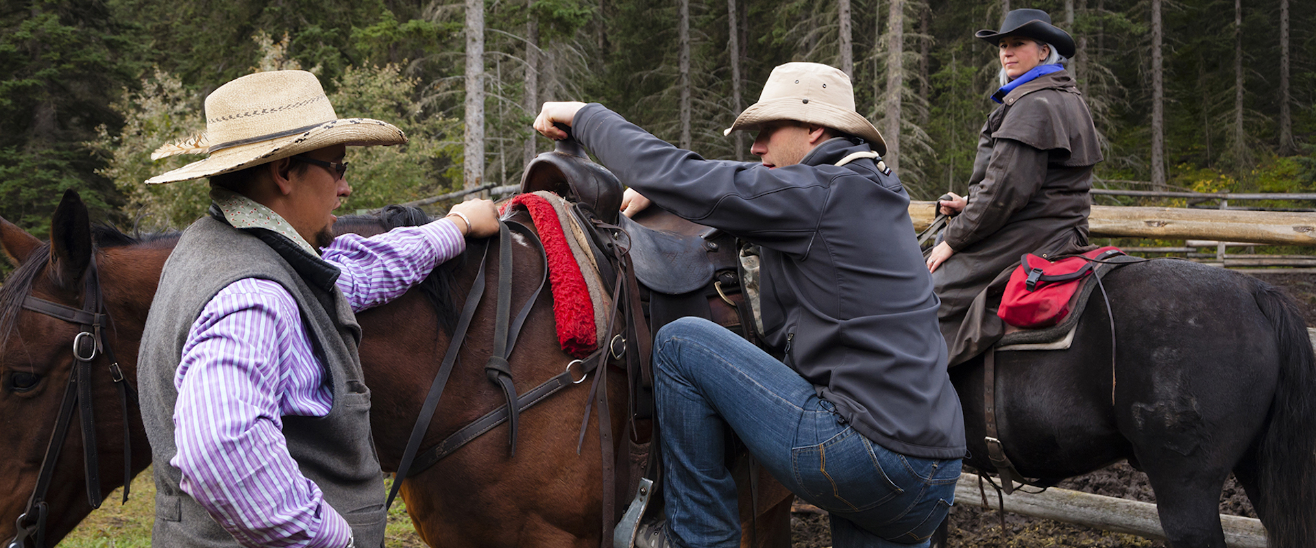Horseback Backcountry Trip in Banff, Canadian Rockies with Banff Trail Riders