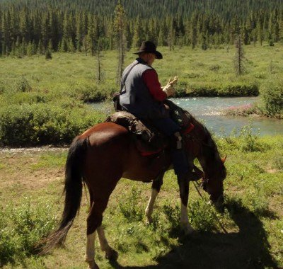 Banff Horseback - Marble