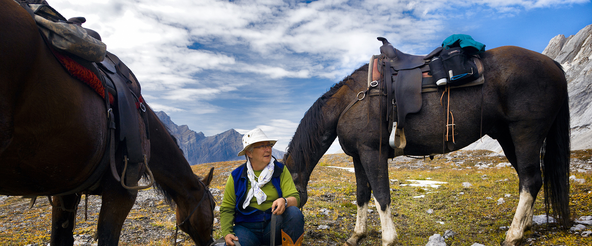 Horseback Riding Vacations, Banff Trail Riders