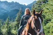 See spectacular mountains on a Banff backcountry vacation with Bsnff Trail Riders