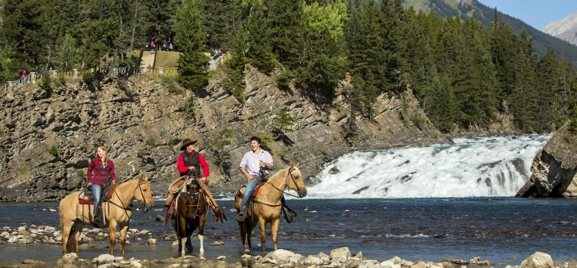 Horseback Ride in Banff, Canadian Rockies with Banff Trail Riders