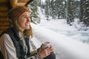 Stay at Sundance Backcountry Lodge in Winter in Banff, Canadian Rockies