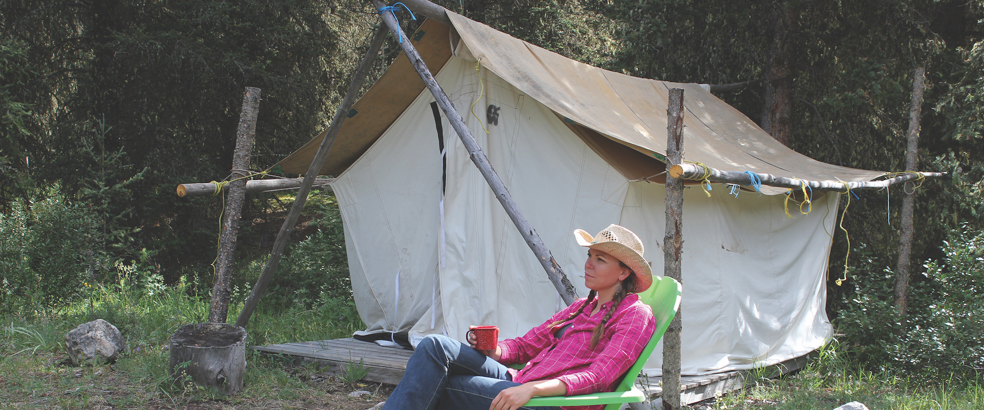 Backcountry Tent Trips in Banff, Canadian Rockies with Banff Trail Riders