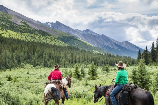 Horseback Tent Trip in Banff, Canadian Rockies with Banff Trail Riders