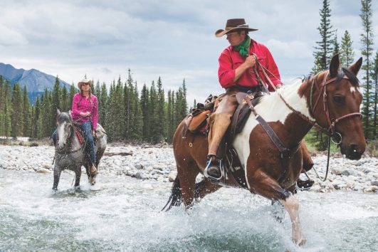 Canadian Rockies Horseback Riding with Banff Trail Riders