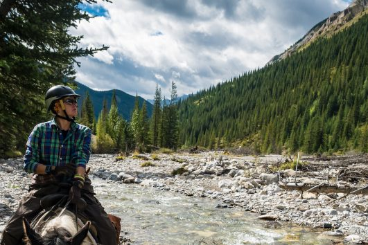 Canadian Rockies Horseback Rides with Banff Trail Riders