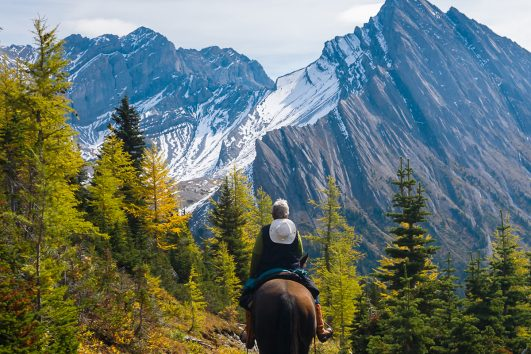 Canadian Rockies Horseback Rides with Banff Trail Riders